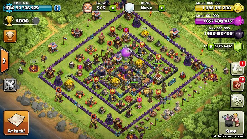 Clash of Clans Custom Unlimited Mod